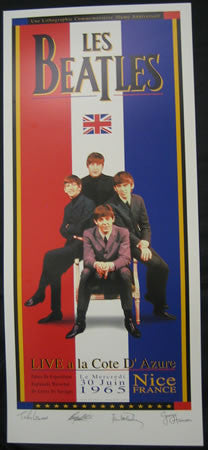 Troy Alders - The Beatles France 1965 30th Anniversary Print