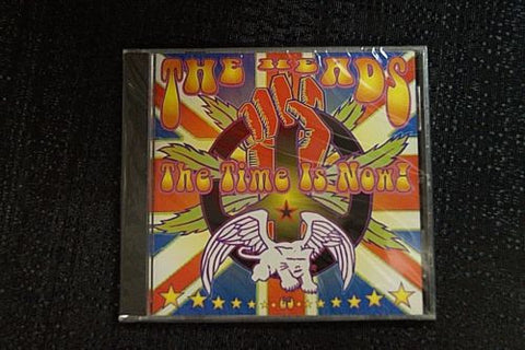 "The Heads ""The Time Is Now!"" 1998 CD Art By Kozik"