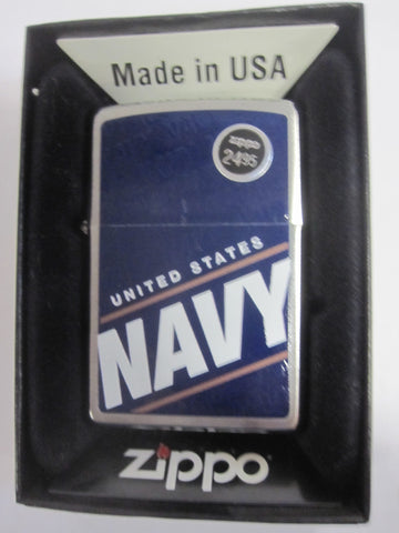Zippo Lighter - Military - US Navy