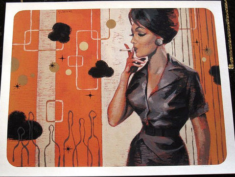 Glenn Barr - 2005 - Stacy Art Print