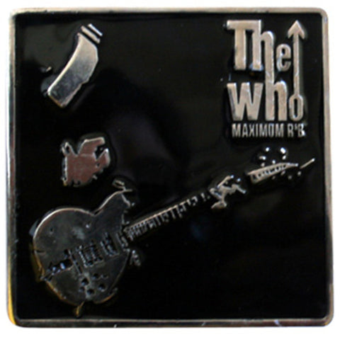 The Who Maximum R&B Belt Buckle