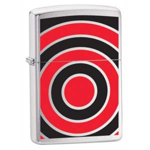 Zippo Lighter - Art - Bull's Eye
