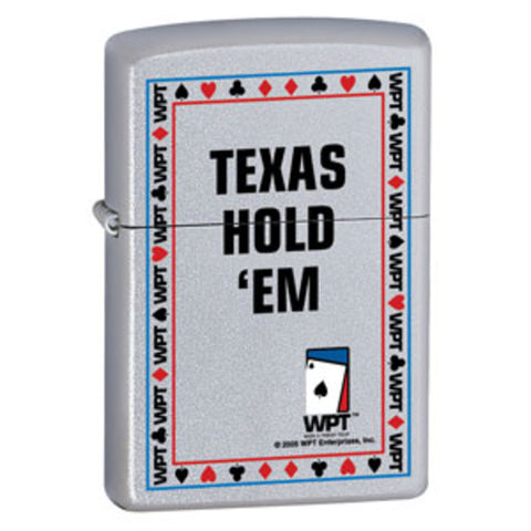 Zippo Lighter - Other - World Poker Tour Texas Holdem