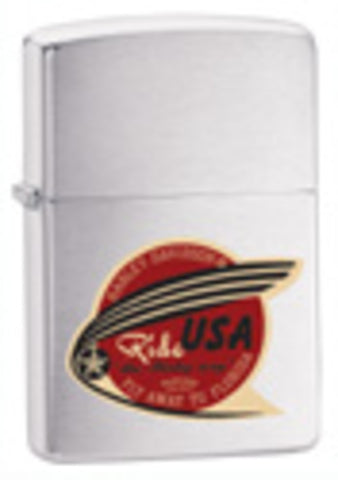 Zippo Lighter - Harley Davidson - Ride USA