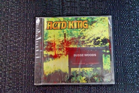 "Acid King ""Busse Woods"" 1999 CD Art By Kozik"