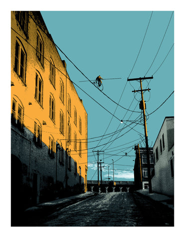 Mark Brabant - 2011 - Aerialists on W. 24th (Variant) Art Print