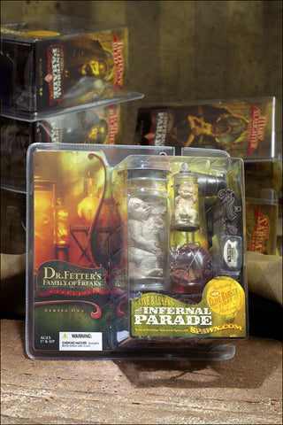 McFarlane - Clive Barker - Infernal Parade -  Family of Freaks