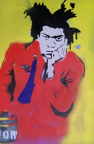 Paul (Wall) Rolfes - Basquiat Red - 2011 - original