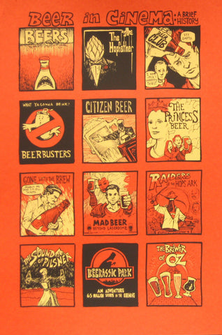 Dwitt - 2011 - Beer In Cinema, A Brief History Print