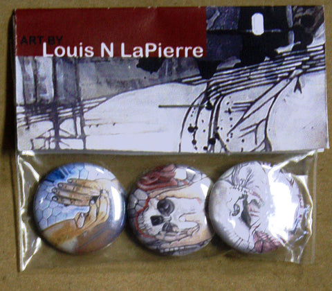 Louis N LaPierre - Art Buttons I