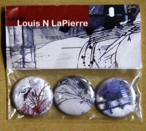 Louis N LaPierre - Art Buttons II