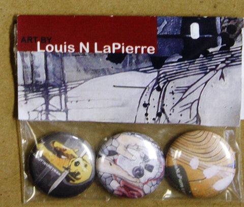 Louis N LaPierre - Art Buttons III