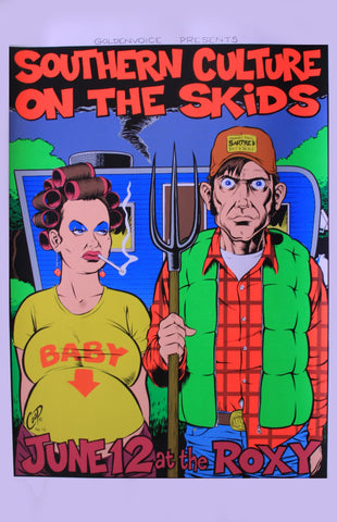 Coop - 1996 - Southern Culture On the Skids Concert Poster