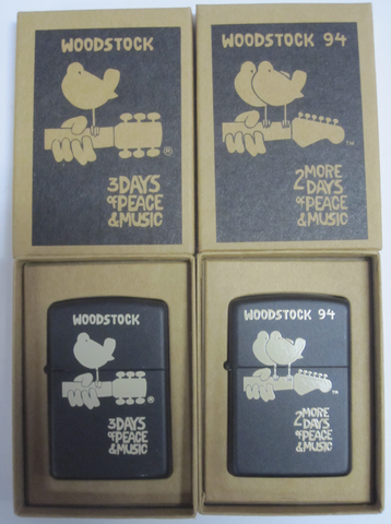 Zippo Lighter - Music - Woodstock Two Pack