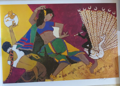Indian Art - Nautanki