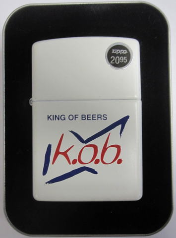Zippo Lighter - Alcohol - Budweiser King of Beers