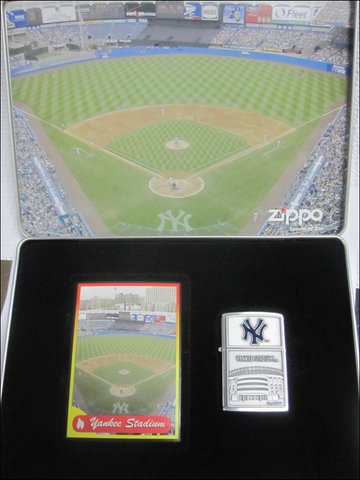 Zippo Lighter - Sports - Yankee Stadium