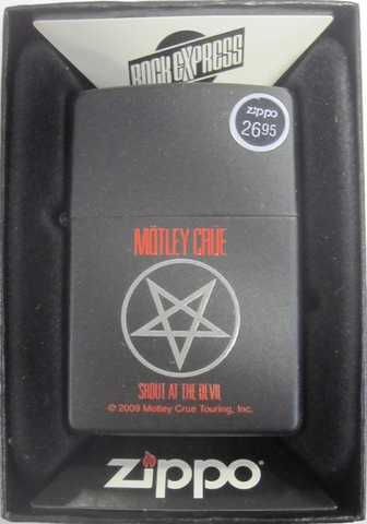 Zippo Lighter - Music - Motley Crue Shout at the Devil