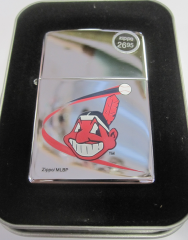 Zippo Lighter - Sports - Cleveland Indians MLB