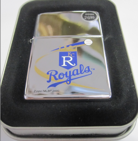 Zippo Lighter - Sports - Kansas City Royals MLB