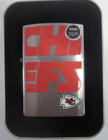 Zippo Lighter - Sports - Chiefs NFL
