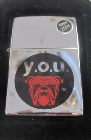 Zippo Lighter - Alcohol - Red Dog  Y.O.U.