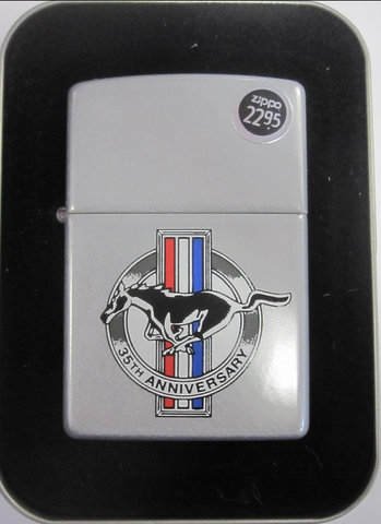 Zippo Lighter - Automotive - Ford Mustang 35th Anniversary