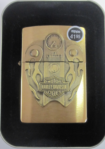 Zippo Lighter - Harley Davidson - Fuel Tank Surprise