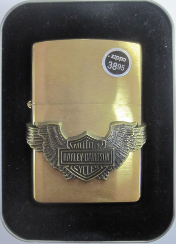 Zippo Lighter - Harley Davidson - '98 Shield/Wing
