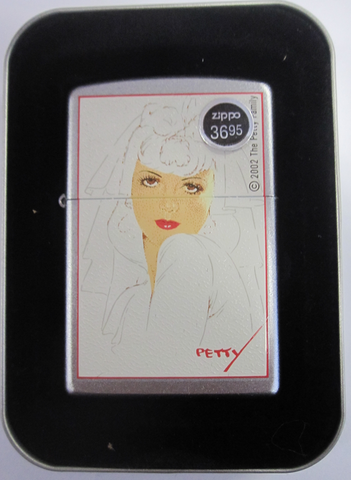 Zippo Lighter - Pinup - Petty Girl The Bride
