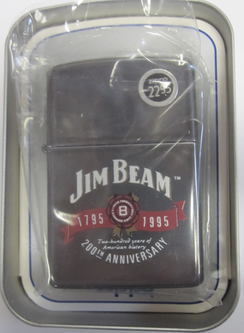 Zippo Lighter - Alcohol - Jim Beam 200 Anniversary