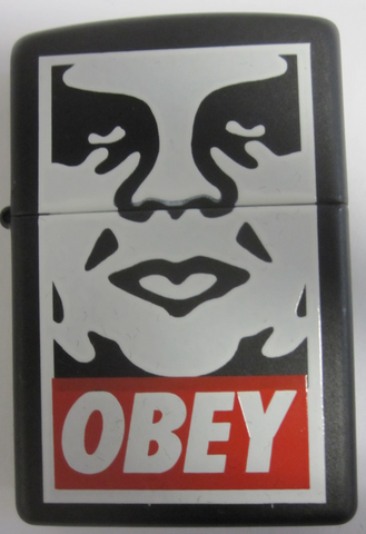 Zippo Lighter - Flame Rite - Sheperd Fairey Obey Lighter