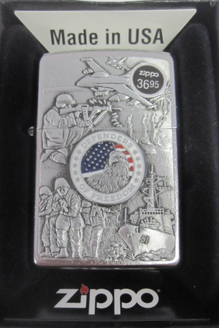 Zippo Lighter - Military - Joined Forces
