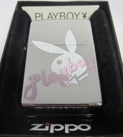 Zippo Lighter - Pinup - Playboy White