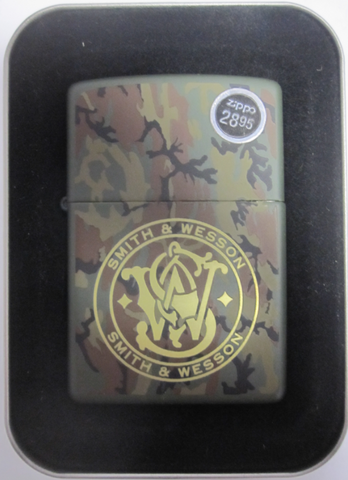 Zippo Lighter - Military - Smith & Wesson Logo