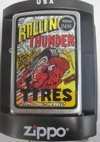 Zippo Lighter - Other - Rolling Thunder