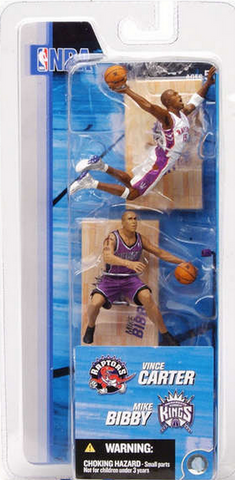 "McFarlane - NBA - 3"" Vince Carter/Mike Bibby"