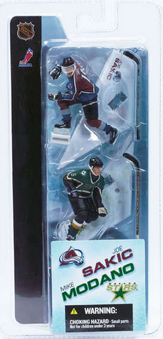 "McFarlane - NHL - 3"" Joe Sakic/Mike Modano"