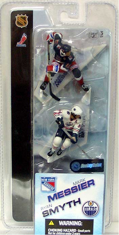 "McFarlane - NHL - 3"" Mark Messier/Ryan Smyth"