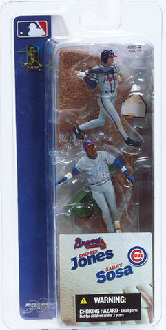 "McFarlane - MLB - 3"" Sammy Sosa/Chipper Jones"