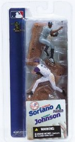 "McFarlane - MLB - 3"" Randy Johnson/Alfonso Soriano"