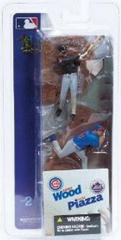 "McFarlane - MLB - 3"" Mike Piazza/Kerry Wood"
