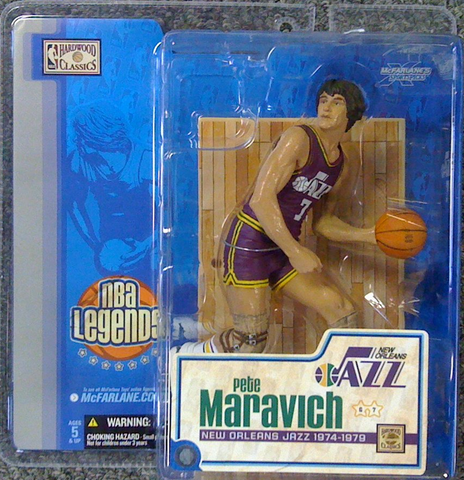 McFarlane - NBA Legends - Pete Maravich