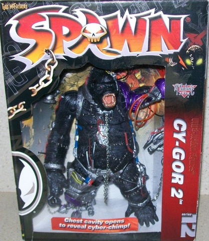 McFarlane - Spawn 12 - Cy-Gor II Deluxe Boxed Set