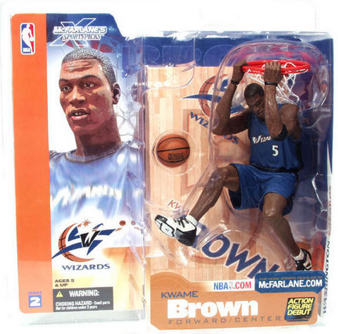 McFarlane - NBA Series 2 - Kwame Brown
