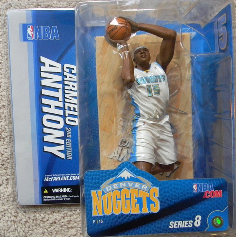 McFarlane - NBA Series 8 - Carmello Anthony 2