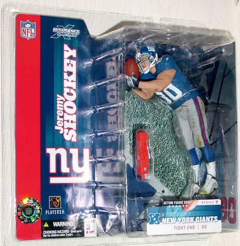 McFarlane - NFL Series 7 - Jeremy Shockey