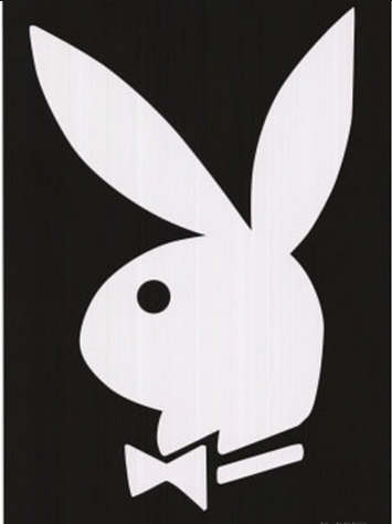"Felt Black Light Poster - ""Playboy"""