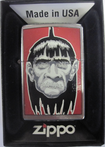 Zippo Lighter - Other - Shrunken Head