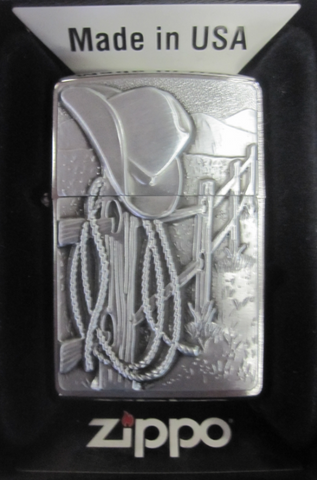 Zippo Lighter - Other - Resting Cowboy